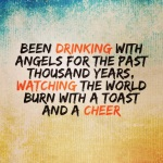 Drinking with Angels